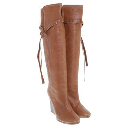 Chloé Boots in Bruin