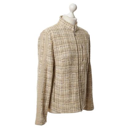 Bogner Jacke aus Webstoff
