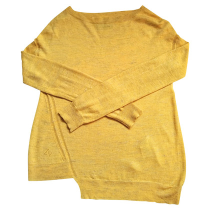 Zadig & Voltaire Yellow knit pullover