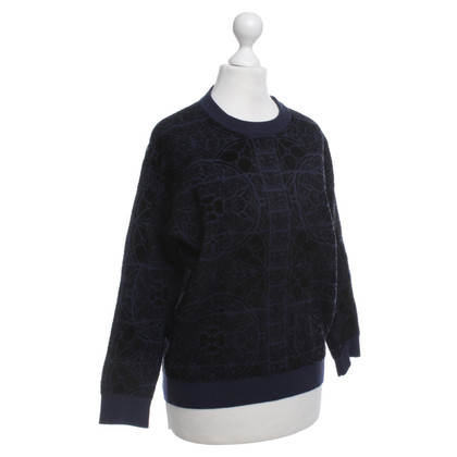 Alexander McQueen Sweater with a floral pattern