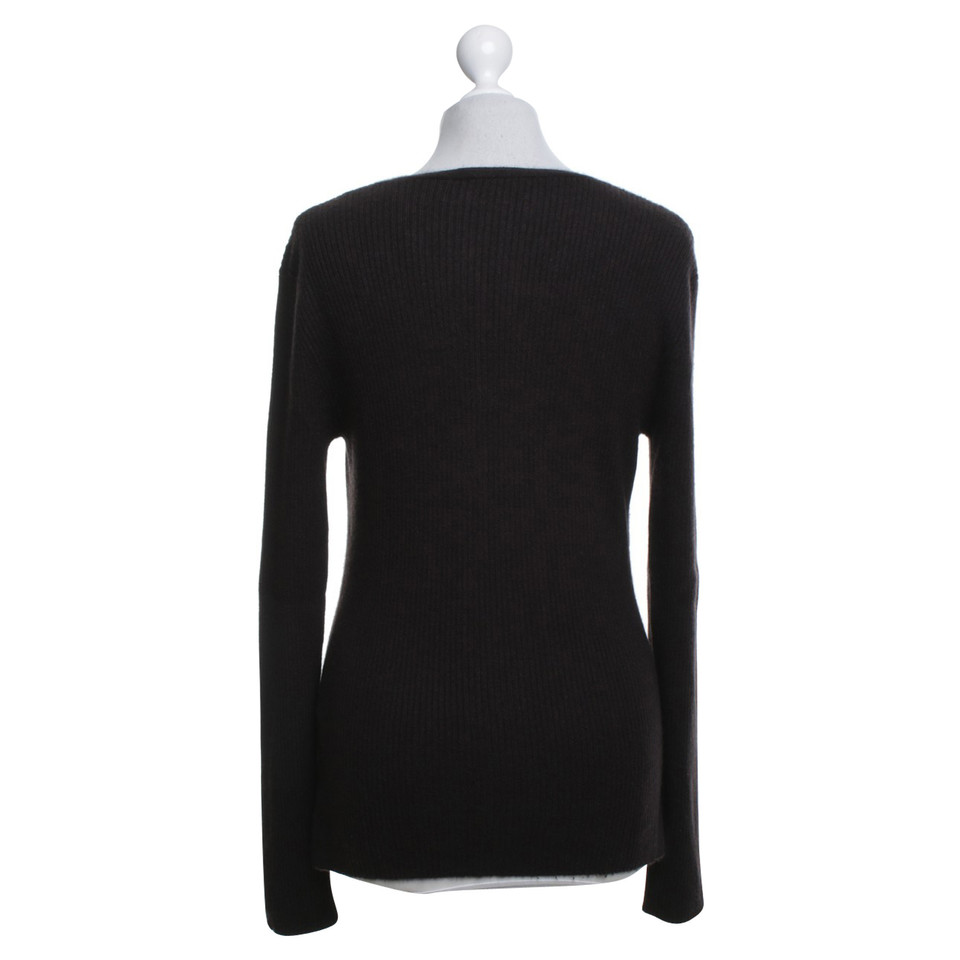 FFC Cashmere sweater in dark brown - Buy Second hand FFC Cashmere ...