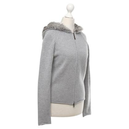Bloom Cardigan in grey