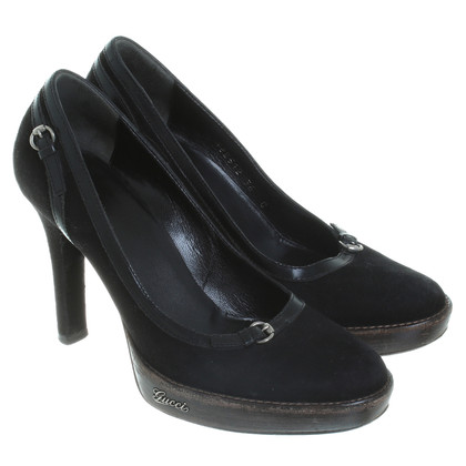Gucci Plateau Pumps in black