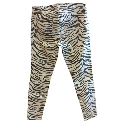 Current Elliott Zebra jeans