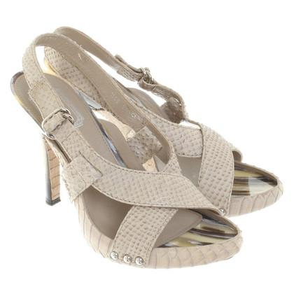 Christian Dior Sandali Pelle di serpente