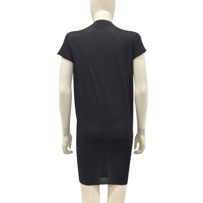 Yves Saint Laurent Strick-Kleid in Schwarz