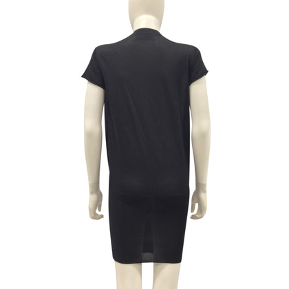Yves Saint Laurent Robe en maille en noir