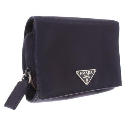 Prada Jewelery bag in dark purple
