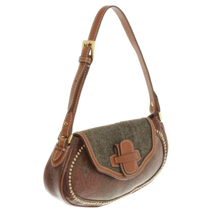 Etro Handbag with rivet trim