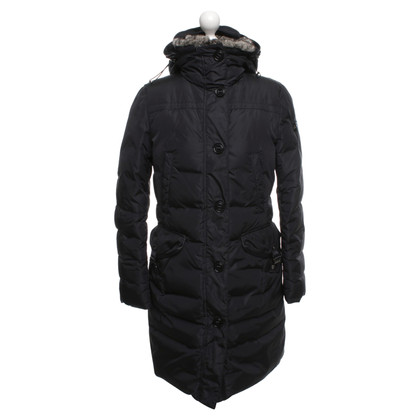 Peuterey Down coat in black
