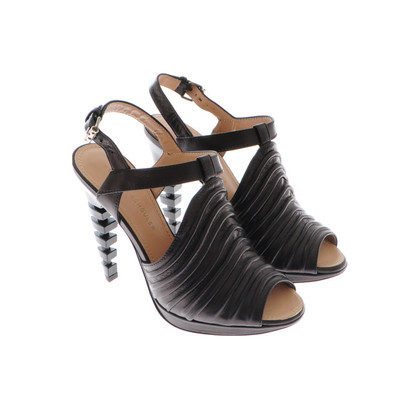 Proenza Schouler Brown platform sandals
