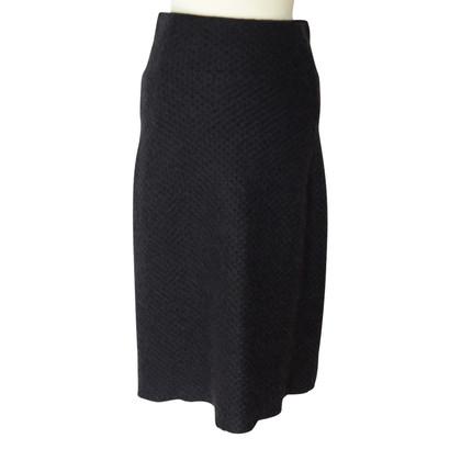 Odeeh Tweed rok met hoge taille