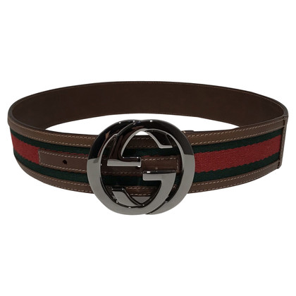 Gucci Canvas with wide webbing