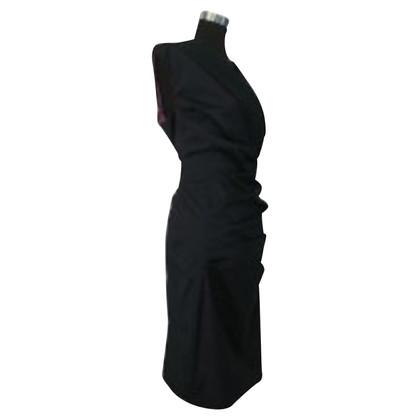 Talbot Runhof zijden jurk