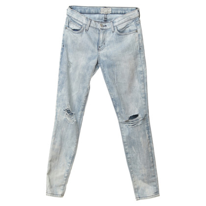 Current Elliott Jeans in the destroyed look