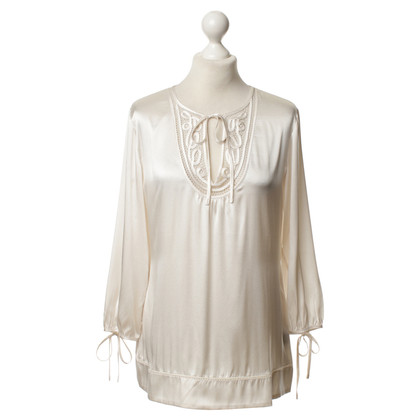 Style Butler Silk blouse in cream