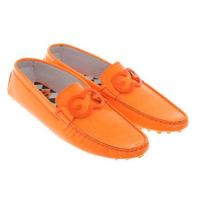 Escada Loafer a Orange