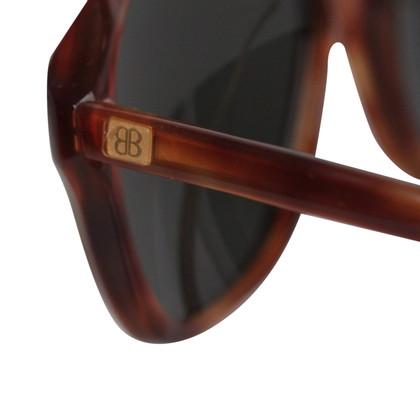 Balenciaga Occhiali da sole unisex del Brown