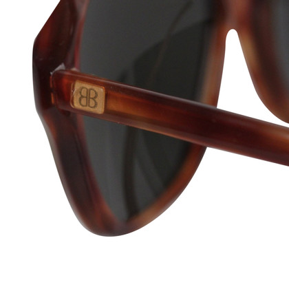 Balenciaga Sunglasses Brown Unisex