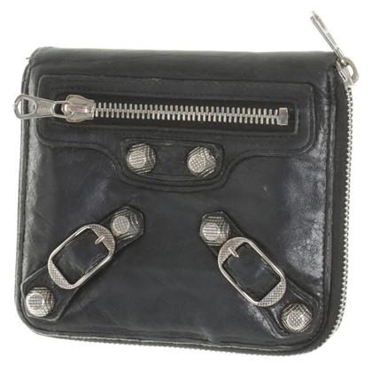 Balenciaga portafoglio in pelle