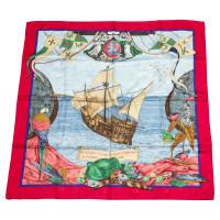 "Hermès Foulard en soie ""Christopher Columbus"""