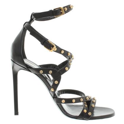 Saint Laurent Sandals in zwart