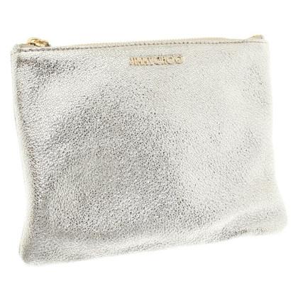 Jimmy Choo clutch in zilver