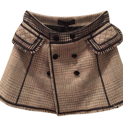 Louis Vuitton tweed rok