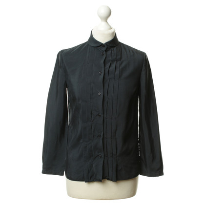 Jil Sander Blouse in dark blue