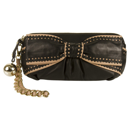 Moschino Cheap and Chic borsa da sera in pelle nera
