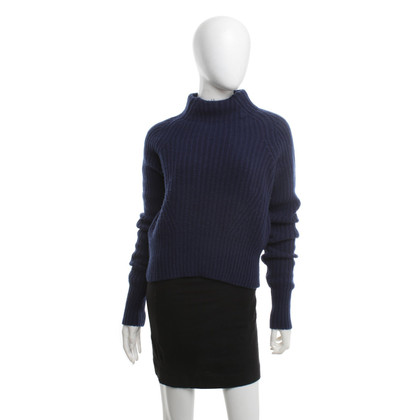 Acne Knitted sweater in blue