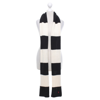 Polo Ralph Lauren Scarf with striped pattern