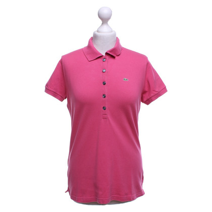 Lacoste Polo shirt in pink