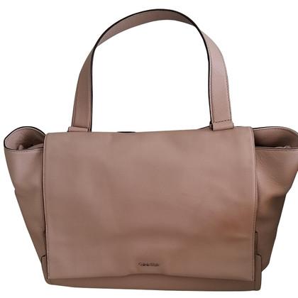 Calvin Klein Handtasche in Beige