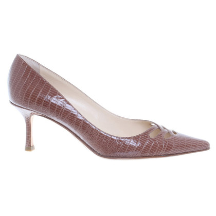 Jimmy Choo Pumps aus Leder