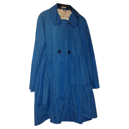 Paul Smith Blauer Trenchcoat