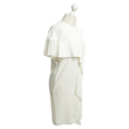 Dondup Dress in cream white