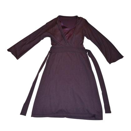 Brunello Cucinelli Cashmere-Kleid mit Unterkleid aus Seide