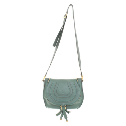 "Chloé ""Marcie Small Shoulder Bag"" in green"