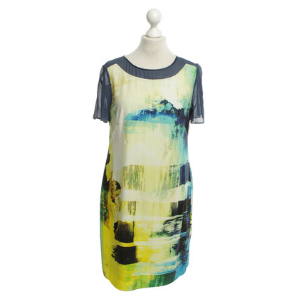 Karen Millen Silk dress with graphic print