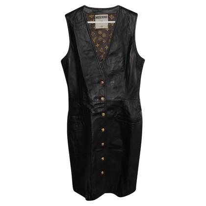 Moschino Moschino leather dress