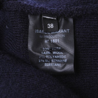 Isabel Marant Pullover in Dunkelblau/Creme