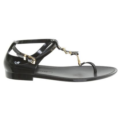 Ralph Lauren Toe sandals in black