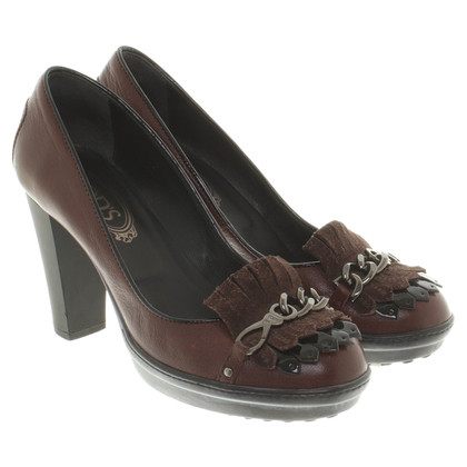 Tod's pumps Brown