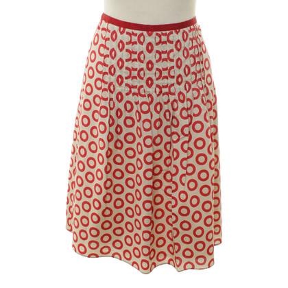 Etro skirt with circle-print
