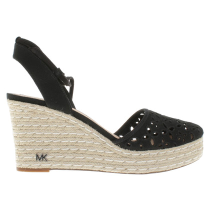 Michael Kors Wedges espadrilles with lace trim