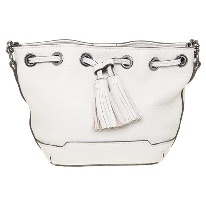 "Rebecca Minkoff ""Micro Lexi Bucket Bag"" in Hellgrau"