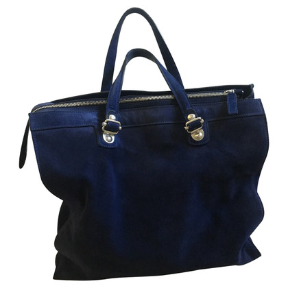 Pollini Handbag in blue