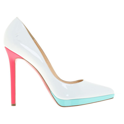 Christian Louboutin Plateau-pumps in Multicolor