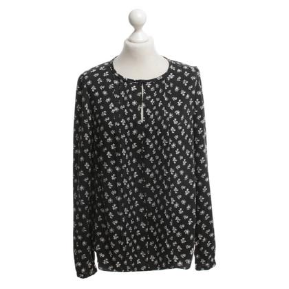 Diane von Furstenberg Camicia in bianco / nero